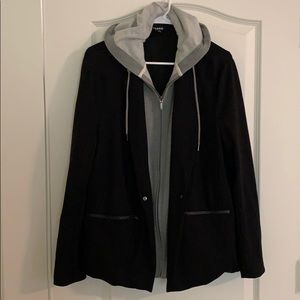Torrid Sweatshirt Blazer
